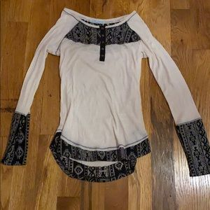 A long sleeve maurices blouse